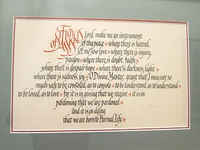 Michael Podesta Calligraphy