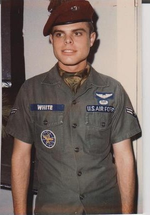 Sgt. Stephen White USAF My Brother