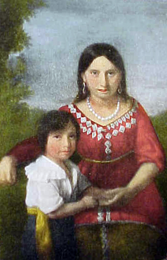 Pocahontas-and-Thomas-Rolfe-The-Sedgeford-Portrait