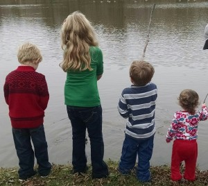 Cousins fishing