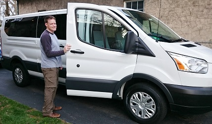 Jaff & the new Ford Transit