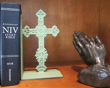 Praying Hands -Bible, etc.