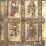 Four Evangelist Symbols In the Public Domain
